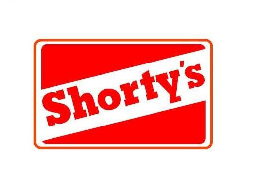 Shorty's Logo | Die Cut Vinyl Sticker Decal | Blasted Rat