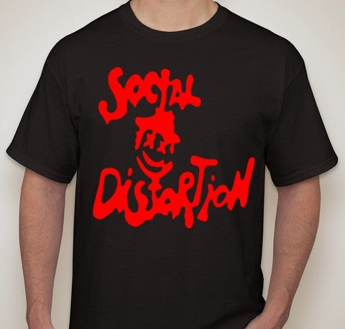 Social Distortion Logo T-shirt | Blasted Rat