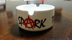 Anonymous Anarchist Ashtray Spark The Revolution