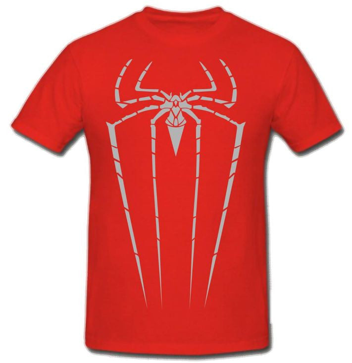 Spiderman Grey Spider T-shirt | Blasted Rat