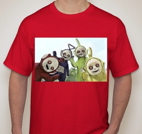 Teletubbies Zombie T-shirt | Blasted Rat