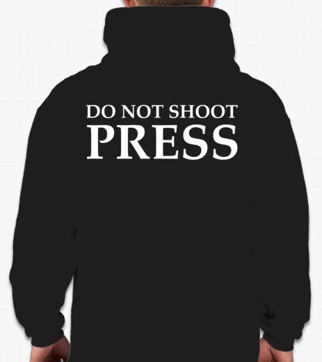 The Fifth Column Do Not Shoot Press Hoodie