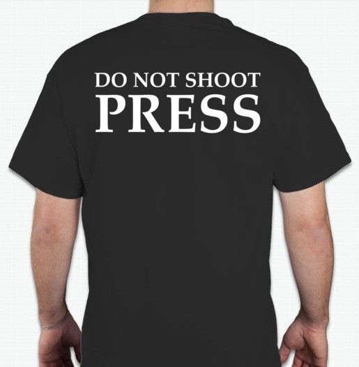 The Fifth Column Do Not Shoot Press T-shirt