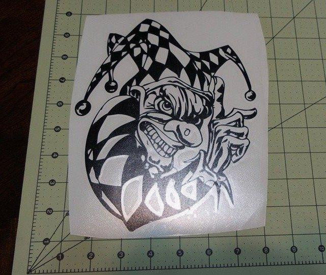 The Jester | Die Cut Vinyl Sticker Decal | Blasted Rat