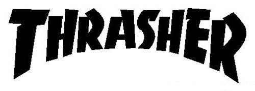 Thrasher Logo | Die Cut Vinyl Sticker Decal | Blasted Rat