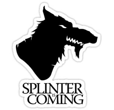 TMNT Splinter Is Coming | Die Cut Vinyl Sticker Decal | Blasted Rat
