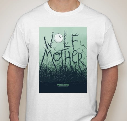 Wolfmother Moon Art T-shirt | Blasted Rat