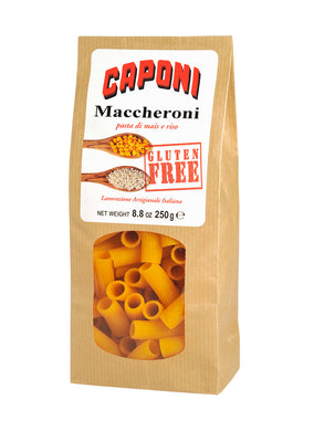 Maccheroncini Hand-Made Gluten Free Dried Pasta Bag