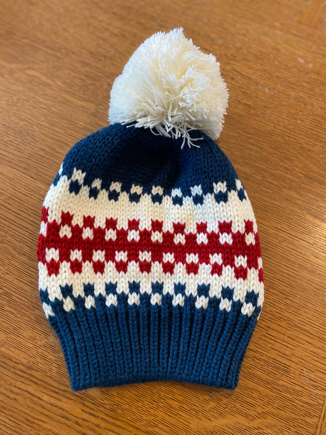 Check All Boxes Pom Hat