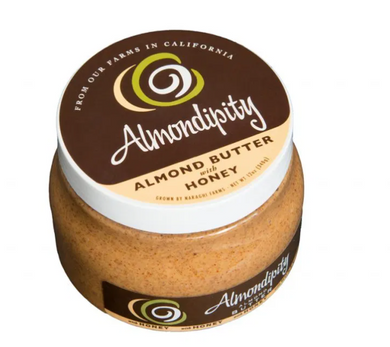 Almond Butter with Honey Jar