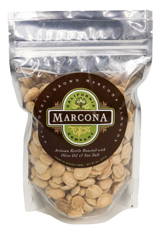 Marcona Almonds, Roasted Salted in Bag