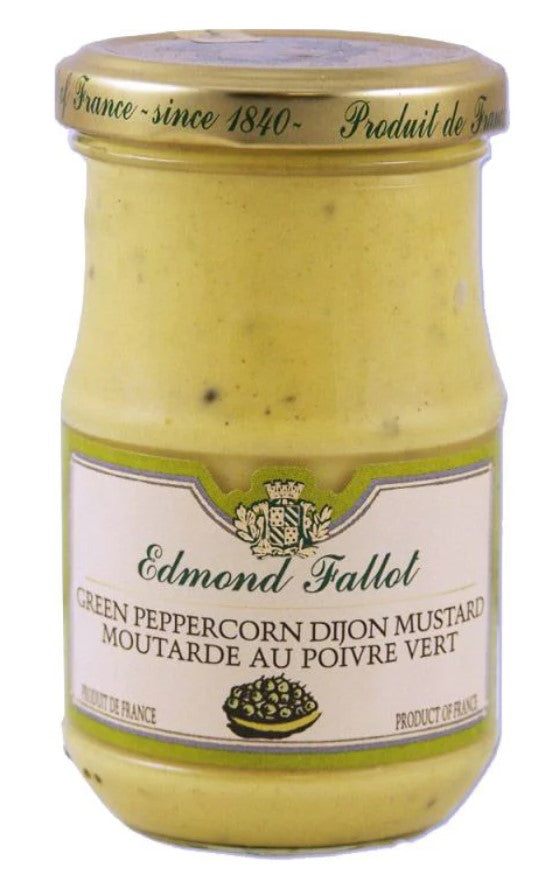 Fallot Green Peppercorn Dijon Jar