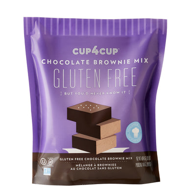 Gluten Free Chocolate Brownie Mix Cup4Cup