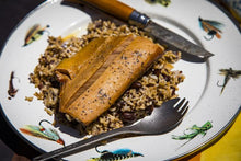 Load image into Gallery viewer, campfare salmon over rice