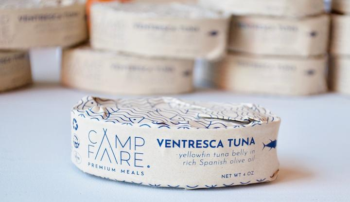 campfare tuna tin oval