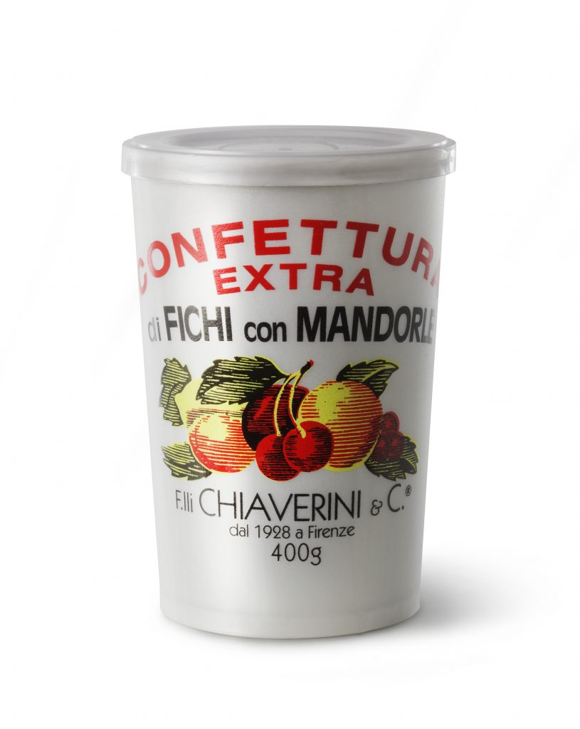 Chiaverini Fig & Almond Jam Classic Jar