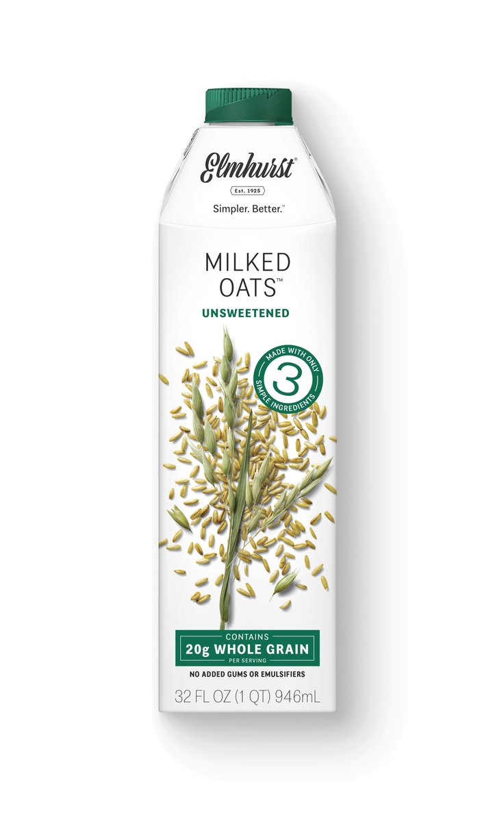 Oat Milk Unsweetened Front of Carton