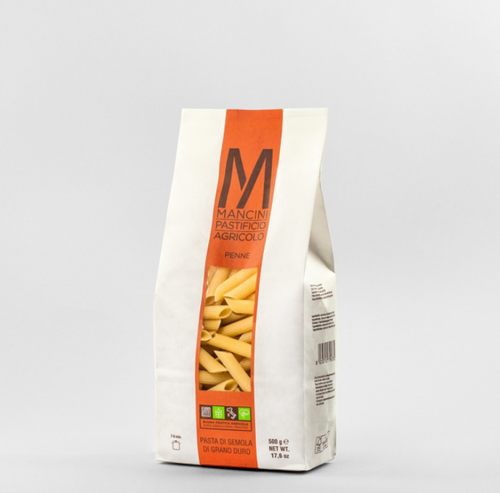 Mancini Penne Pasta Dried Front