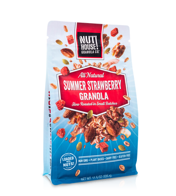 Summer Strawberry Granola Front