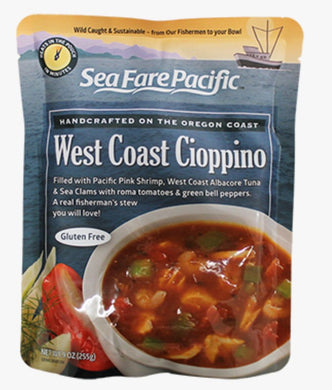 SeaFare Pacific West Coast Cioppino Pouch Front