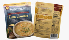 Load image into Gallery viewer, SeaFare Pacific Clam Chowder Both Sides Pouch