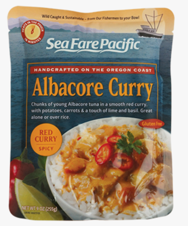 Albacore Tuna Red Curry Chowder Pouch