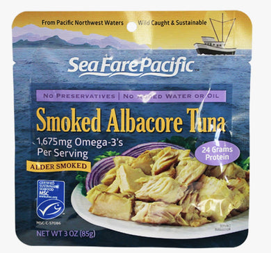 SeaFare Pacific Smoked Tuna Pouch