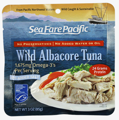 Wild Tuna NO salt Pouch