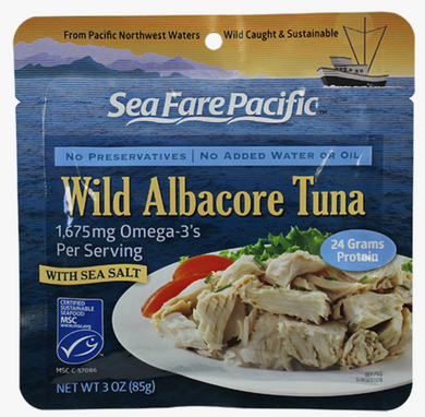 Wild Caught Tuna Pouch