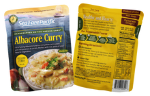 Load image into Gallery viewer, Albacore Tuna Yellow Curry Chowder Pouch Both Sides