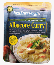 Load image into Gallery viewer, Albacore Tuna Yellow Curry Chowder Pouch