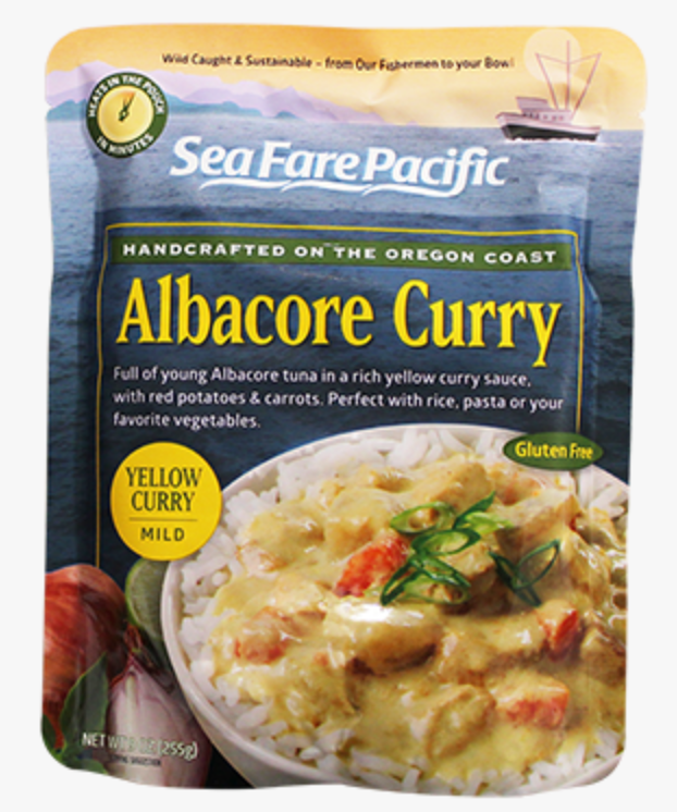 Albacore Tuna Yellow Curry Chowder Pouch