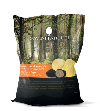 Truffle Potato Chips Front Label