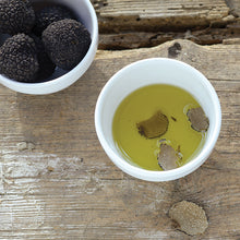 Load image into Gallery viewer, Black Truffle Oil with extra shaved truffles