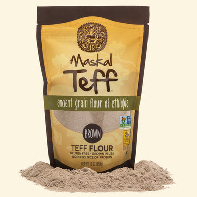 Teff Flour Brown