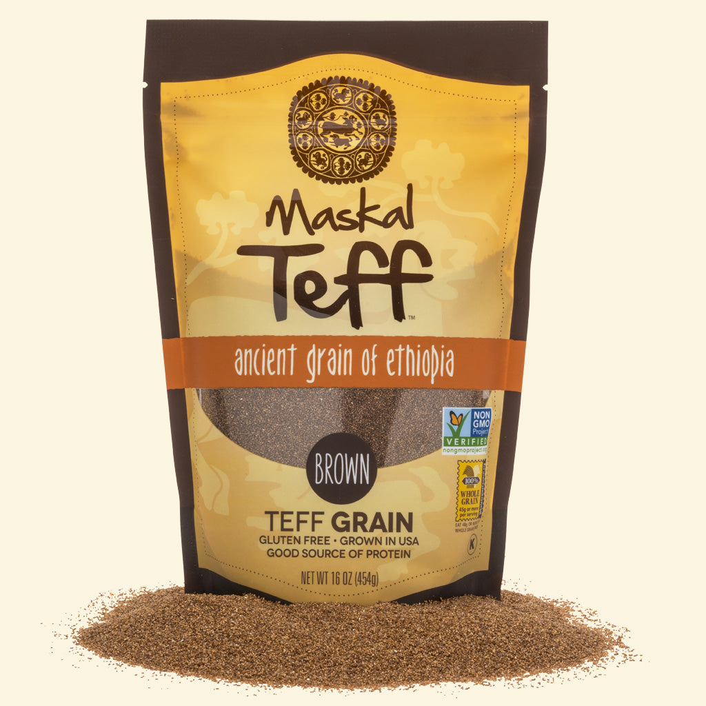 Teff Grain Brown