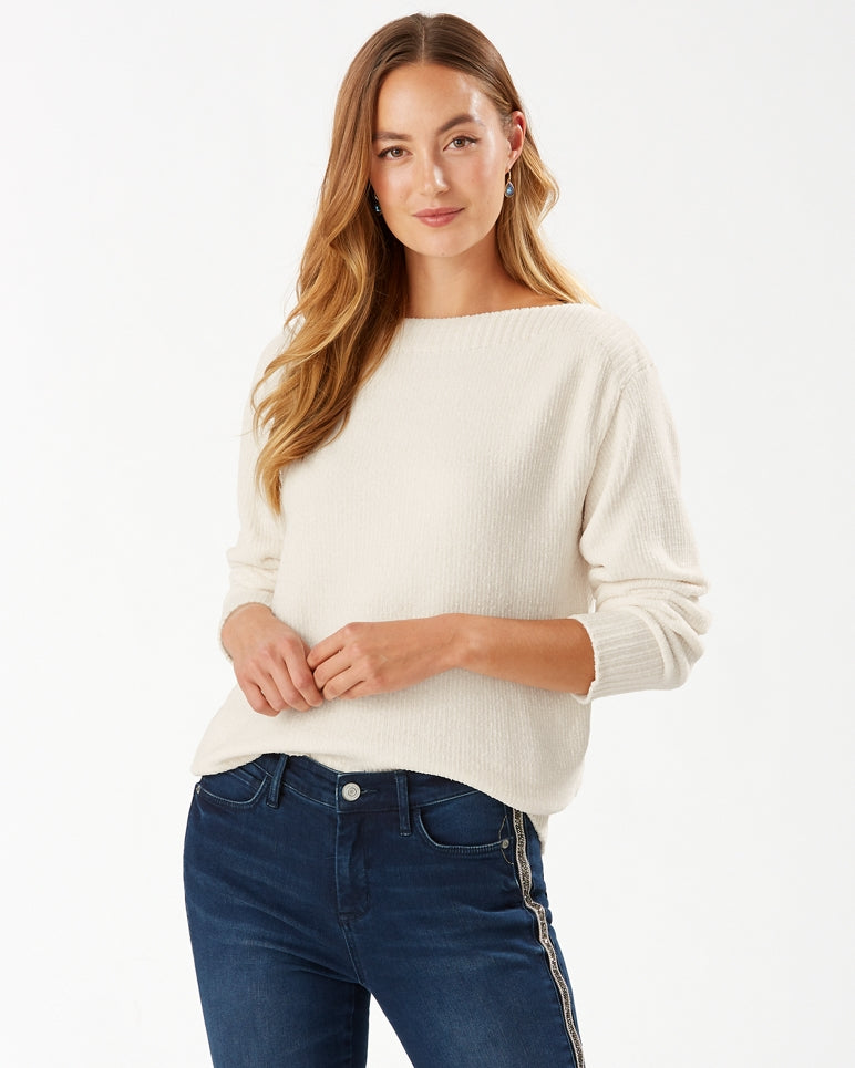 Tommy Bahama Luna Chenille Boatneck