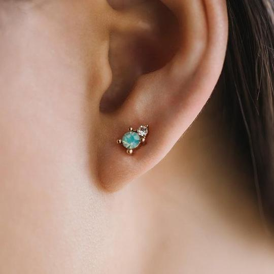 Lover's Tempo Dolce Studs - Pacific Opal