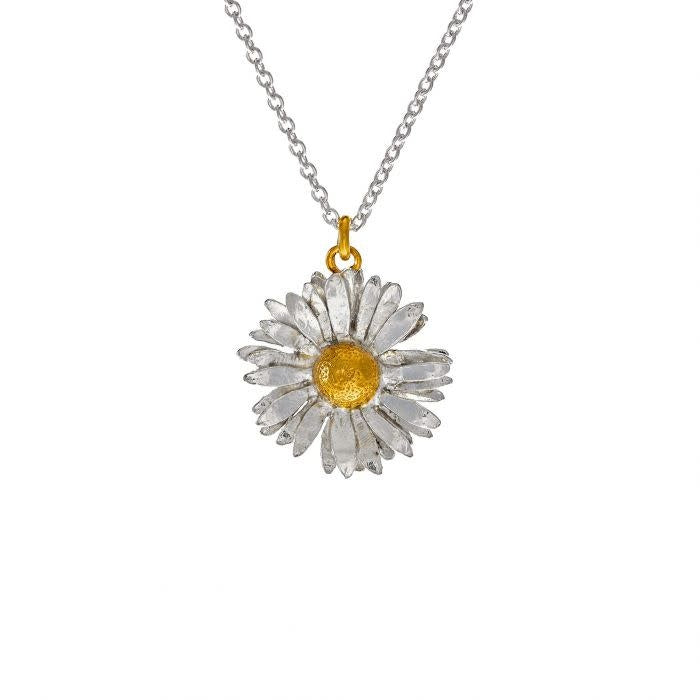 Alex Monroe Big Daisy Necklace