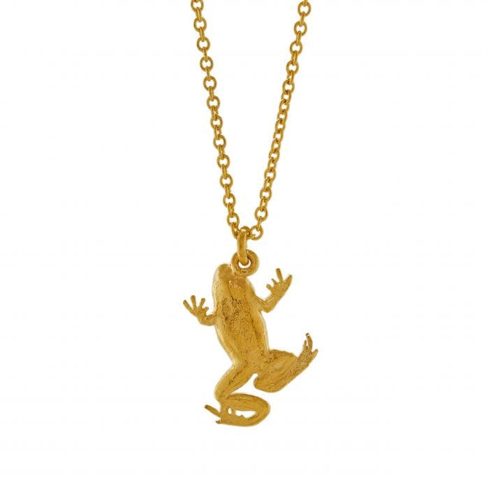 Alex Monroe Frog Necklace