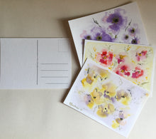 Load image into Gallery viewer, Summer Memories postcards set of 3.