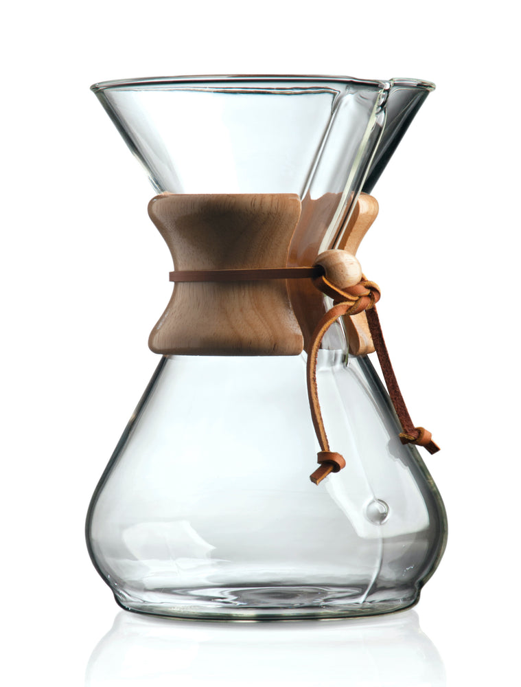 chemex 8 cup coffee maker brewing equipment