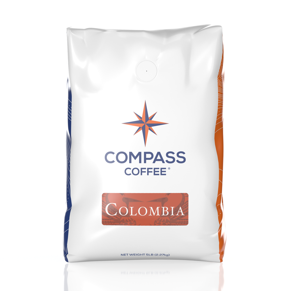 dark colombia single origin blend 5lb bag
