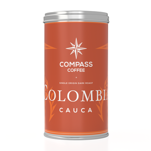Load image into Gallery viewer, dark colombia single origin whole bean blend 12oz