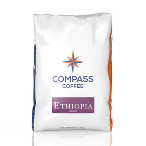 ethiopia blend coffee beans 5lb bulk bag