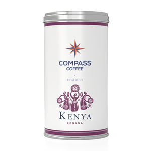 kenya single origin coffee beans blend 12oz tin