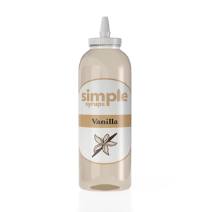 vanilla coffee syrup simple syrups 16oz