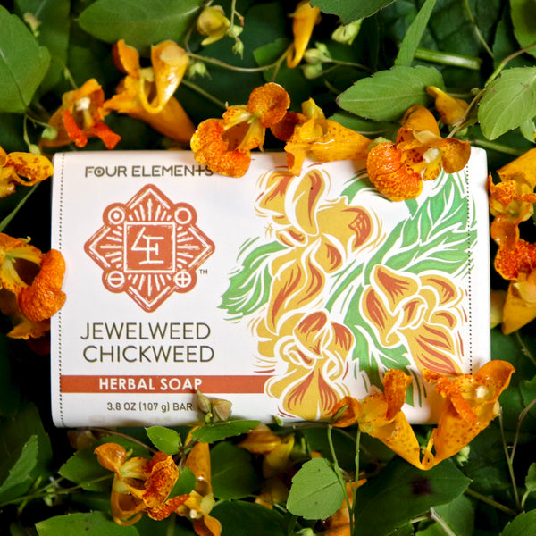 Jewelweed Chickweed Soap