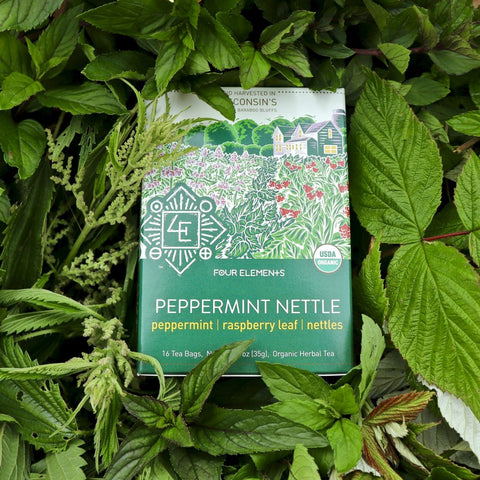Peppermint Nettle Tea