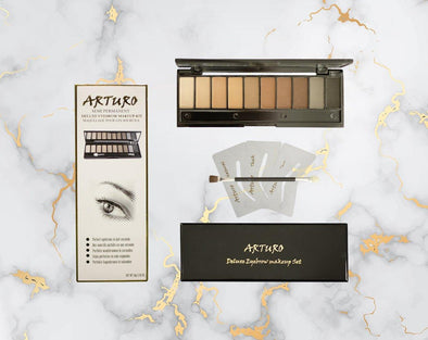 Arturo Cosmetics Deluxe Eyebrow Kit Arturo Cosmetics Deluxe Eyebrow Kit Arturo Cosmetics Deluxe Eyebrow Kit - euroshineshopArturo Cosmetics Deluxe Eyebrow Kit